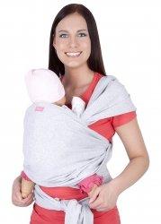 MijaCulture - chusta do noszenia dzieci 4011/M28 melanż