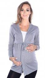 MijaCulture - bolerko ciążowe 2 w 1 7105 grafit