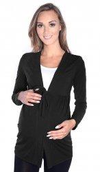 MijaCulture - bolerko ciążowe 2 w 1 7105 czarny