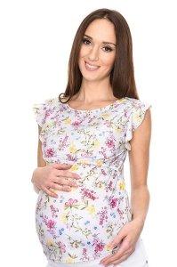 Wyjątkowa bluzka 2 w 1 ciążowa i do karmienia Emily 7139