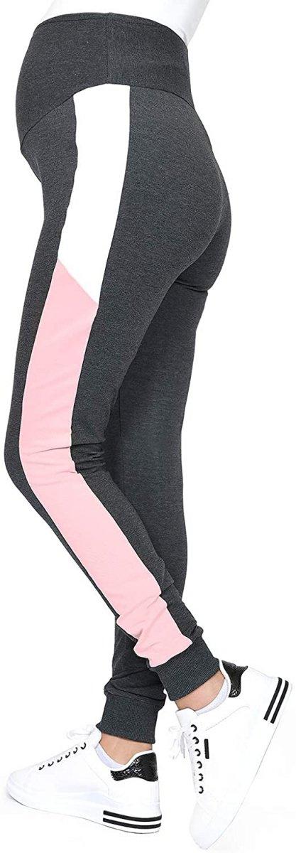 Wygodne spodnie ciązowe dresowe  Elle 9095 grafit1
