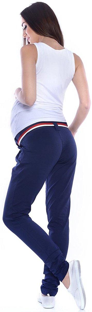 Komfortowe spodnie ciążowe Monika 9081 granat4