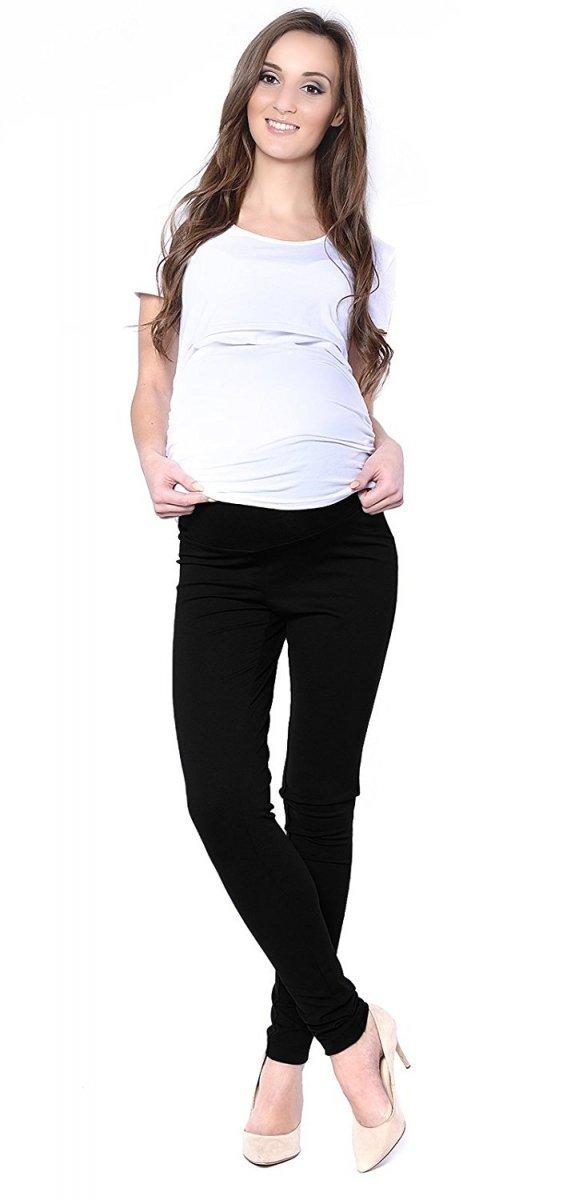 Uniwersalne spodnie ciążowe Lagon 1046 czarny 2