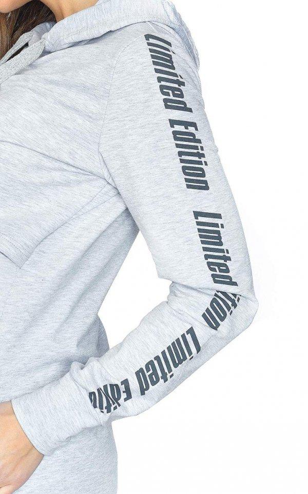 MijaCulture - 3 w 1 bluza ciążowa i do karmienia M68 4110 melanż 5