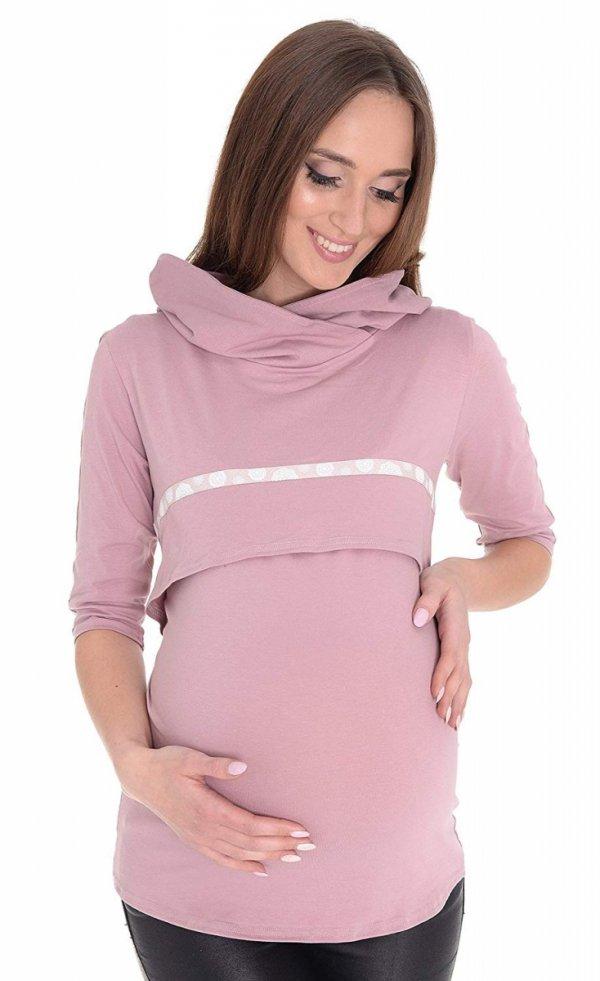"""3 w 1 bluza ciążowa i do karmienia """"Monica"""" 7134 różowy 1"""