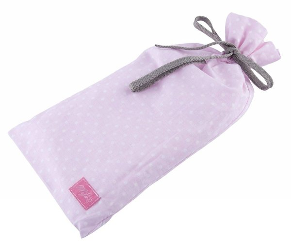 chusta, peleryna do karmienia piersią + etui 4010/M34 różowy 3