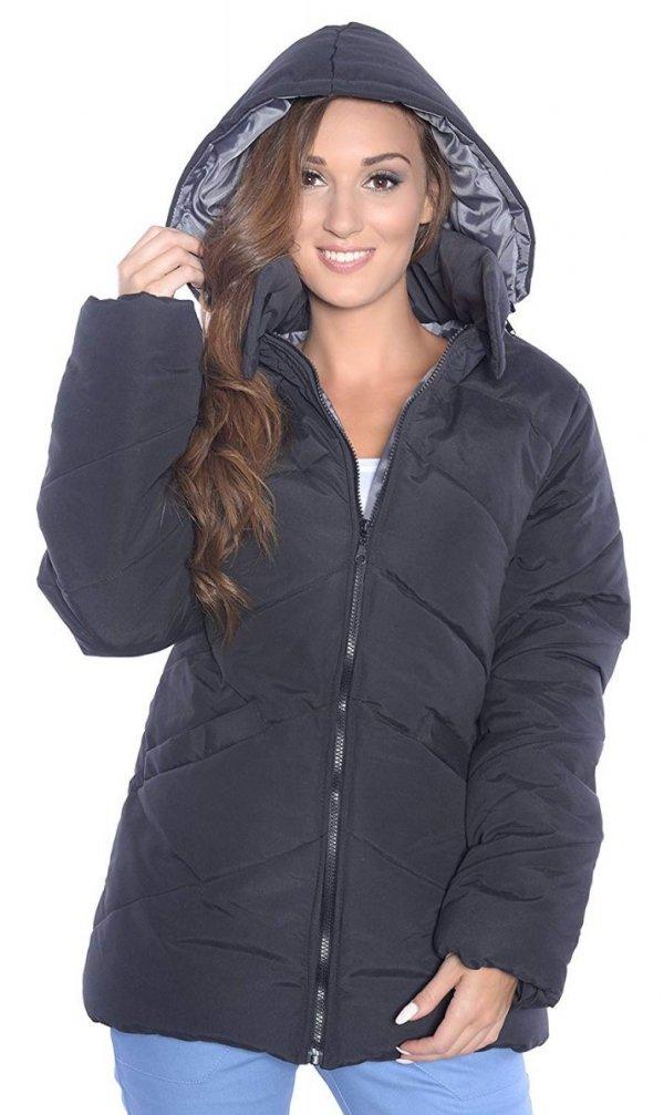kurtka zimowa 3 w1 (dodatkowe 2 panele) 1108 czarny 4