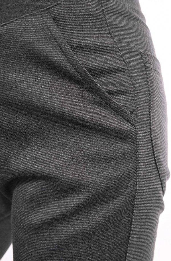 Wygodne spodnie ciążowe Kaja 9043 grafit3