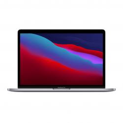 MacBook Pro 13 z Procesorem Apple M1 - 8-core CPU + 8-core GPU / 8GB RAM / 256GB SSD / 2 x Thunderbolt / Space Gray (gwiezdna szarość) 2020 - pcozone