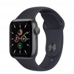 Apple Watch SE 40mm GPS Aluminium w kolorze gwiezdnej szarości z paskiem sportowym w kolorze północy
