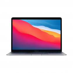 MacBook Air z Procesorem Apple M1 - 8-core CPU + 7-core GPU /  16GB RAM / 256GB SSD / 2 x Thunderbolt / Space Gray - outlet