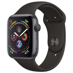 Apple Watch Series 4 Aluminium Case 44mm GPS Black Sport Band Space Gray A1978