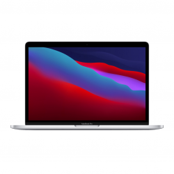 MacBook Pro 13 z Procesorem Apple M1 - 8-core CPU + 8-core GPU / 16GB RAM / 256GB SSD / 2 x Thunderbolt / Silver (srebrny) 2020 - nowy model