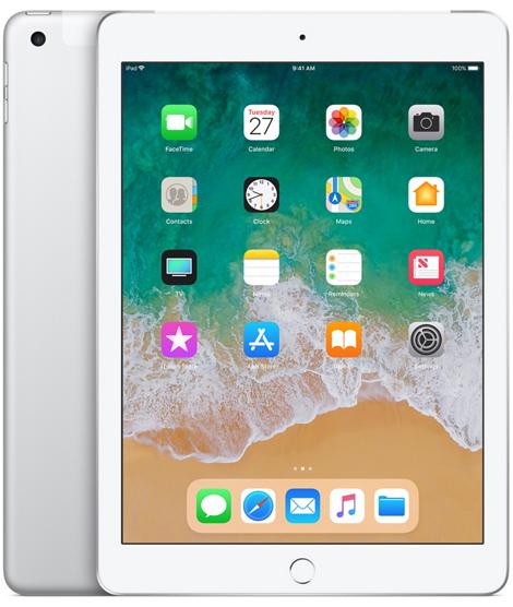 Nowy iPad 9,7 32GB LTE Wi-Fi Silver