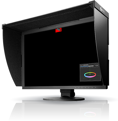 EIZO ColorEdge CG2420 24 IPS FHD 99% Adober RGB + Kaptur
