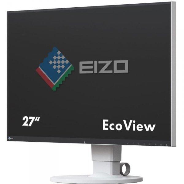 EIZO FlexScan EV2750 27 Biały IPS WQHD HDMI DisplayPort