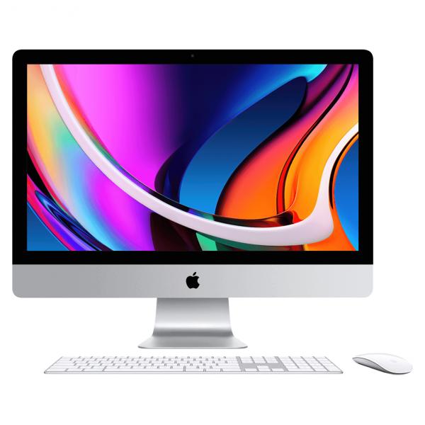 iMac 27 Retina 5K / i5 3,1GHz / 64GB / 256GB SSD / Radeon Pro 5300 4GB / 10-Gigabit Ethernet / macOS / Silver (srebrny) MXWT2ZE/A/E1/64GB - nowy model
