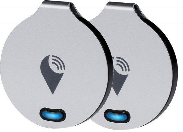 TrackR bravo - lokalizator Bluetooth z funkcją Crowd Locate iOS Android (wersja srebrna) Zestaw