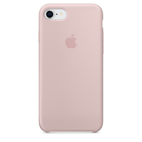 Apple Silicon Case Etui do iPhone 7/8 Pink Sand (piaskowy róż)