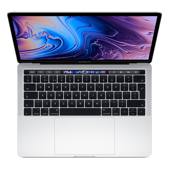 MacBook Pro 13 Retina Touch Bar i5 1,4GHz / 16GB / 128GB SSD / Iris Plus Graphics 645 / macOS / Silver (2019)