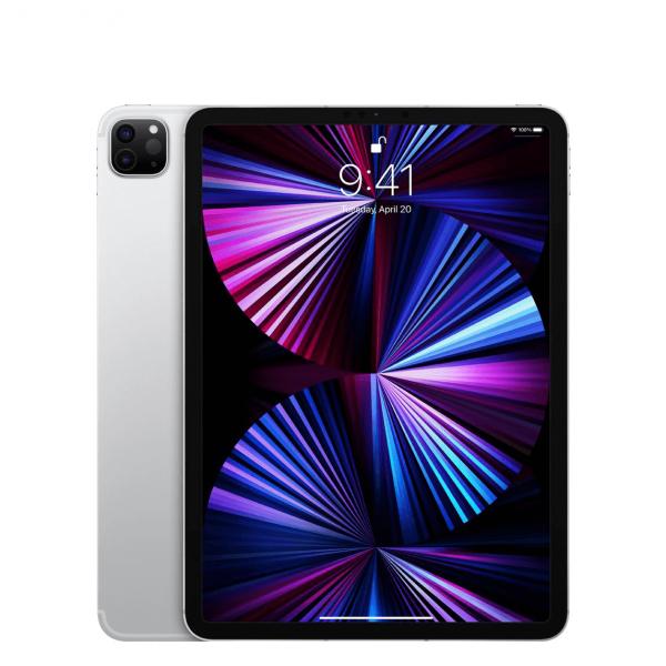 "Apple iPad Pro 11"" 128GB Wi-Fi + Cellular (5G) Srebrny (Silver) - 2021"