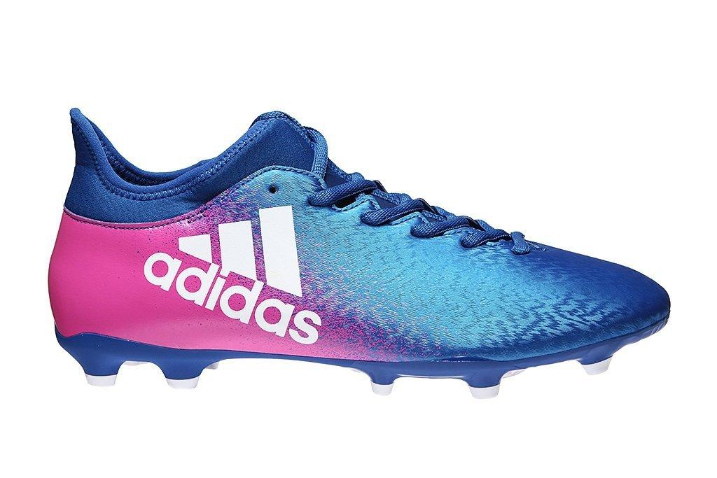 buty korki adidas niebiesko różowe