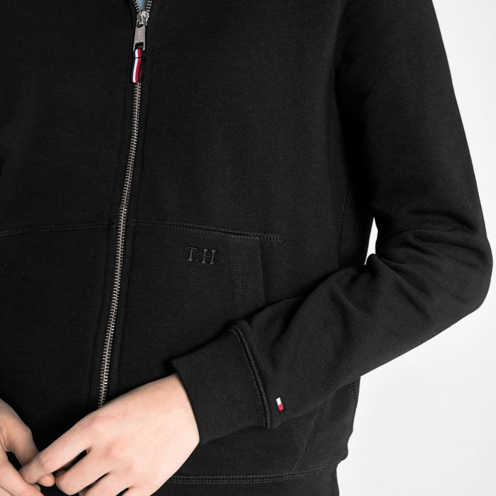 Tommy Hilfiger bluza damska czarna WYPRZEDAŻ