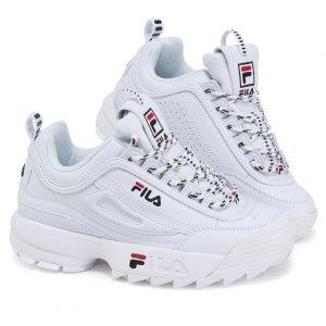 Fila Disruptor buty damskie sneakersy białe X AW LAB 1010431-113