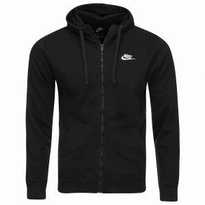 Nike bluza męska Full-Zip Hoodie czarna 804389-010