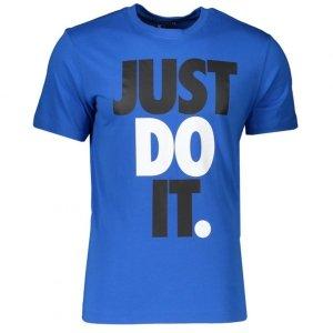 Nike męski t-shirt koszulka niebieska Just Do It CK2309-480