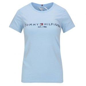 Tommy Hilfiger t-shirt koszulka damska bluzka błękitna