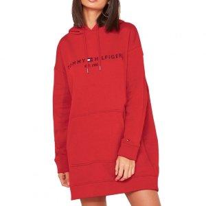 Tommy Hilfiger sukienka damska czerwony