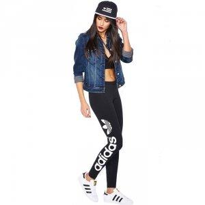 Adidas Originals legginsy damskie czarne AJ8081