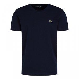 Lacoste t-shirt koszulka męska regular fit granat