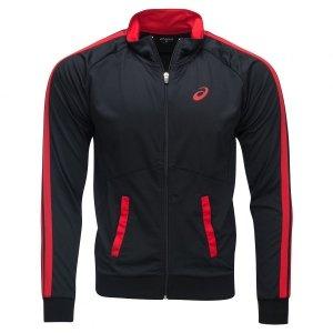 Asics bluza męska czarna Full Zip Jacket 130806-0904