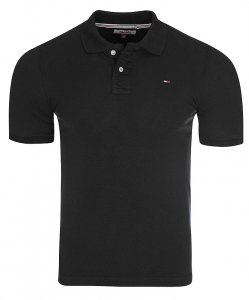 Tommy Hilfiger Denim koszulka polo polówka męska czarna