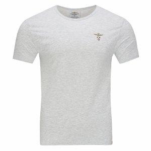 Aeronautica Militare t-shirt koszulka c-neck męska szara
