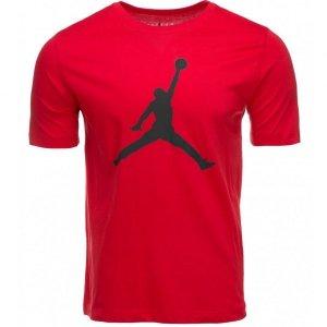 Nike Air Jordan t-shirt koszulka męska czerwona CJ0921-687