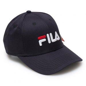 Fila czapka z daszkiem granatowa bejsbolówka Panel Strap Back Linear Logo