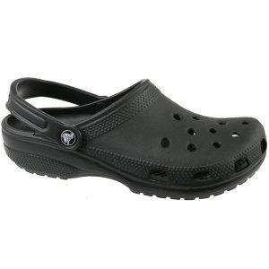 Crocs Classic buty klapki kąpielowe czarne 10001-001
