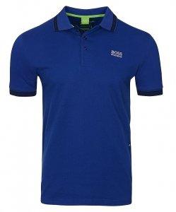 Hugo Boss koszulka polo polówka męska niebieska