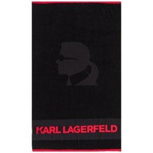 Karl Lagerfeld ręcznik czarny