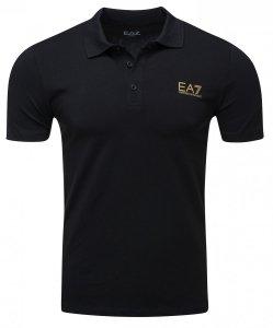 Emporio Armani koszulka polo polówka męska czarna