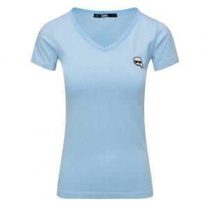 Karl Lagerfeld  t-shirt koszulka damska błęktina