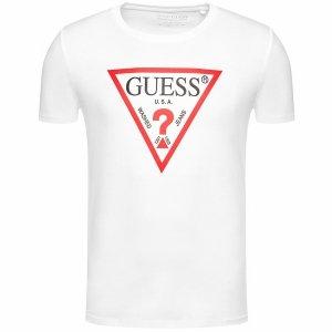 Guess t-shirt koszulka męska biała M1RI71I3Z11-TWHT