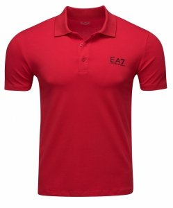 Emporio Armani koszulka polo polówka męska czerwona