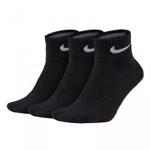 Nike Performance skarpety do kostki męskie czarne 3pack /SX4706-101