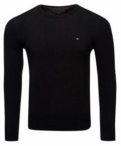 Tommy Hilfiger sweter męski czarny c-nk