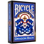 Karty Bicycle Dragon Blue Dragon Back