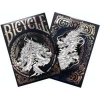 Bicycle Dragon White